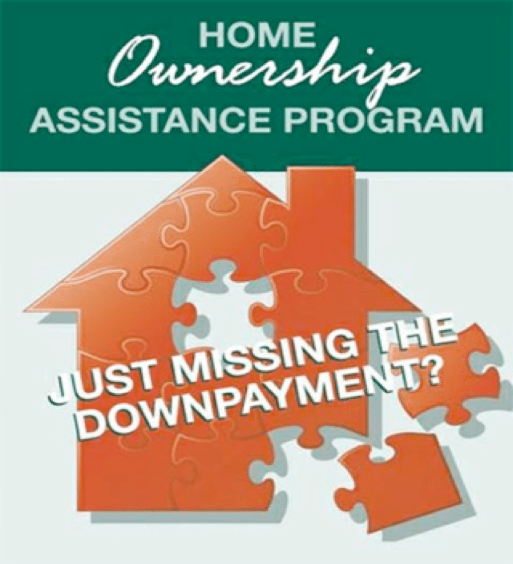 Home Ownership Down Payment Assistance graphic