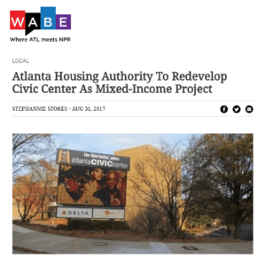 Atlanta Housing Authority To Redevelop Civic Center As Mixed-Income Project